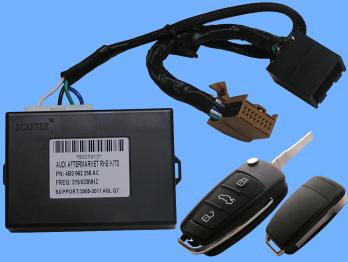 AUDI A6L,Q7 (2005-2011г.) / МОДУЛ ЗА ДИСТАНЦИОННИ / 3 БУТОНА / РАБОТИ С ЧЕСТОТИ 315Mhz., 433 Mhz.